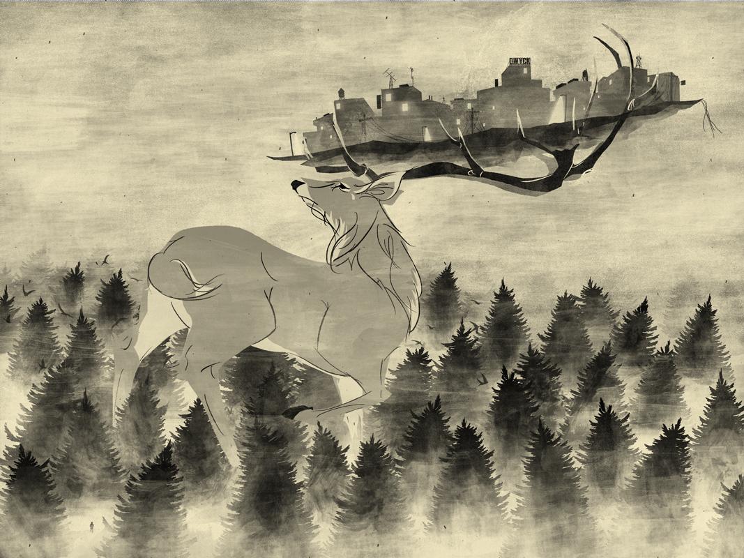 save-me-deer-print